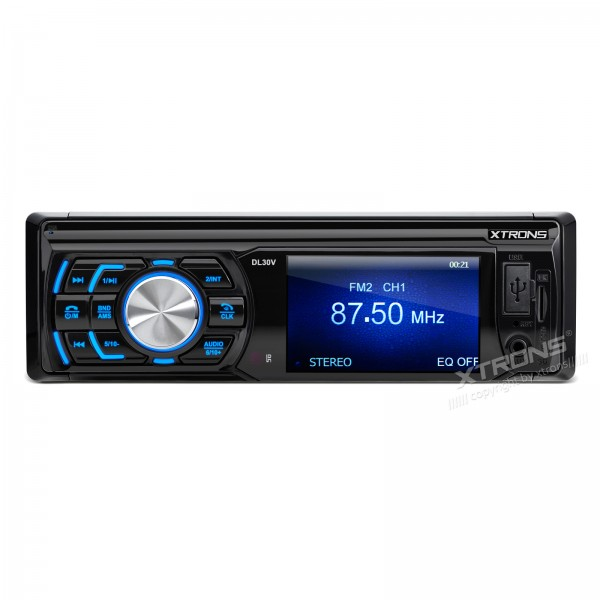 "XTRONS 1 Din 3"" HD Digital Screen In Dash Car Stereo Automotivo Video Audio MP3 USB SD Player 1 DIN FM Radio Retratil"