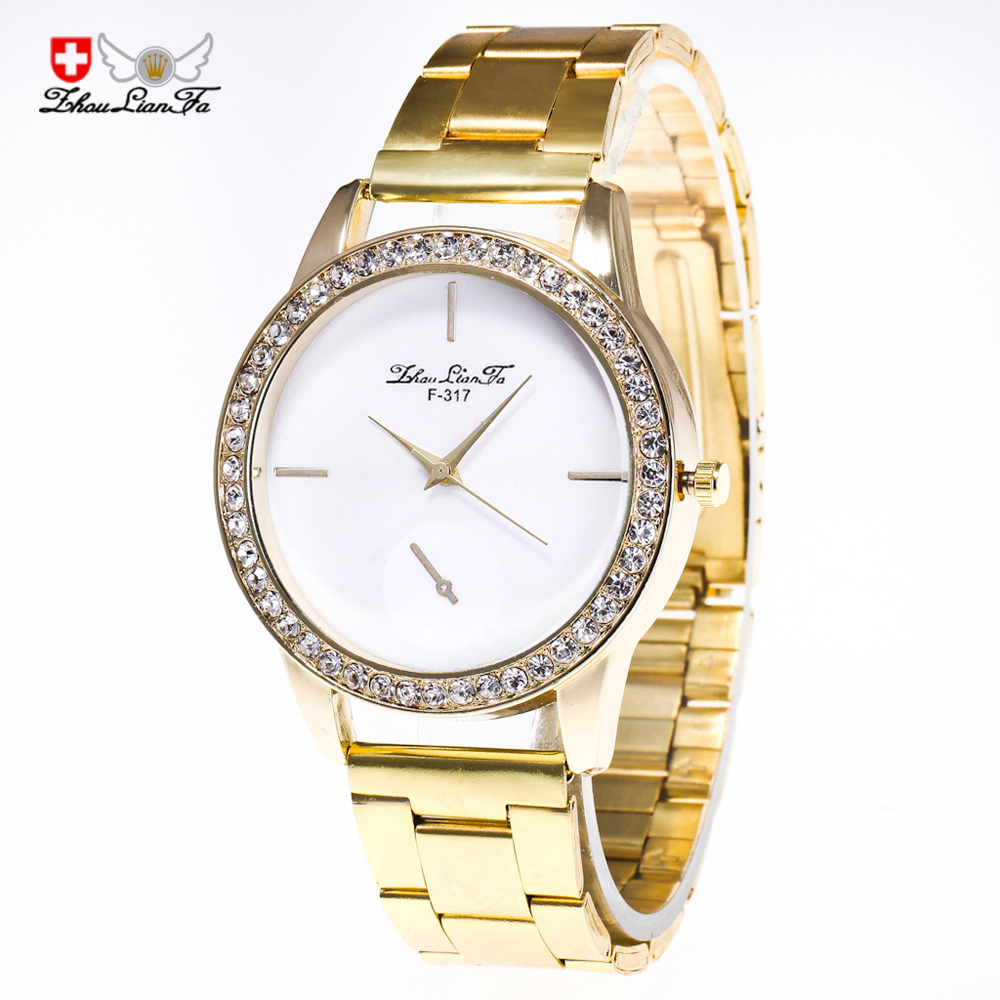 2018 The new diamond business casual mens watch foreign trade hot mens watch gold strip Quartz Wristwatches2018 The new diamond business casual mens watch foreign trade hot mens watch gold strip Quartz Wristwatches