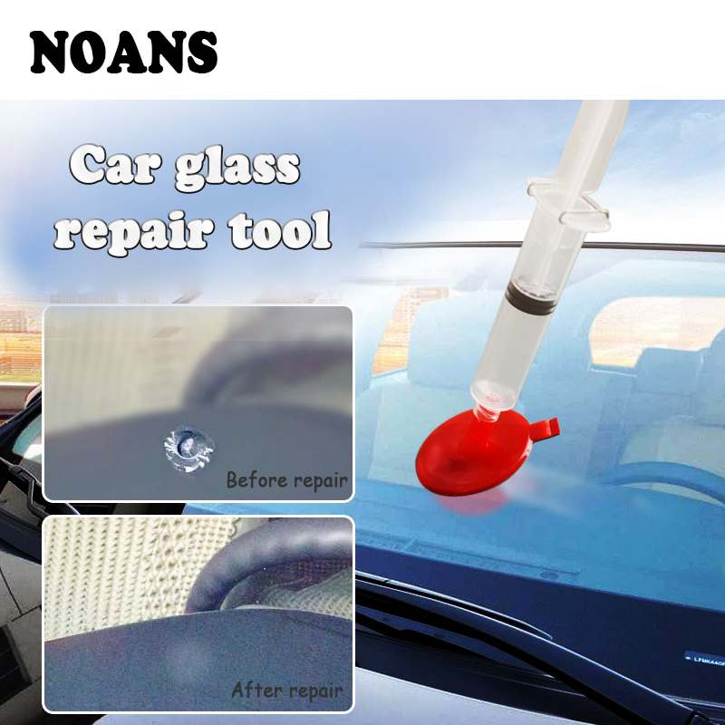 NOANS Car Glass Repair Kits Styling Windshield Window Scratch Tool For Jeep Renegade wrangler Audi A3 A4 B6 B8 A5 Opel Astra h g