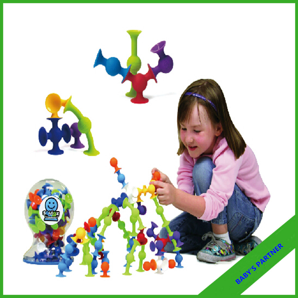 New Products educational toys Suction cup squigzee toy creative assembly nut toys Silicon likes Squigzee Starter Set 36 Pcs ctwj0780 creative toy diy toys drop shipping