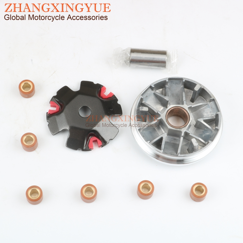 High PERFORMANCE VARIATOR BELT DRIVE SET For Piaggio TYPHOON 50cc 2T