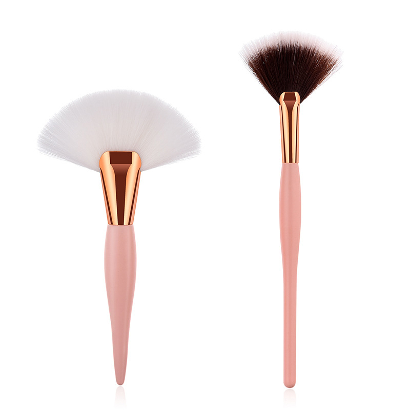1pcs Makeup Brush High-end Wooden Handle Liquid Foundation Powder Eyeshadow Eyeliner Lip Makeup Beauty fashion Tool