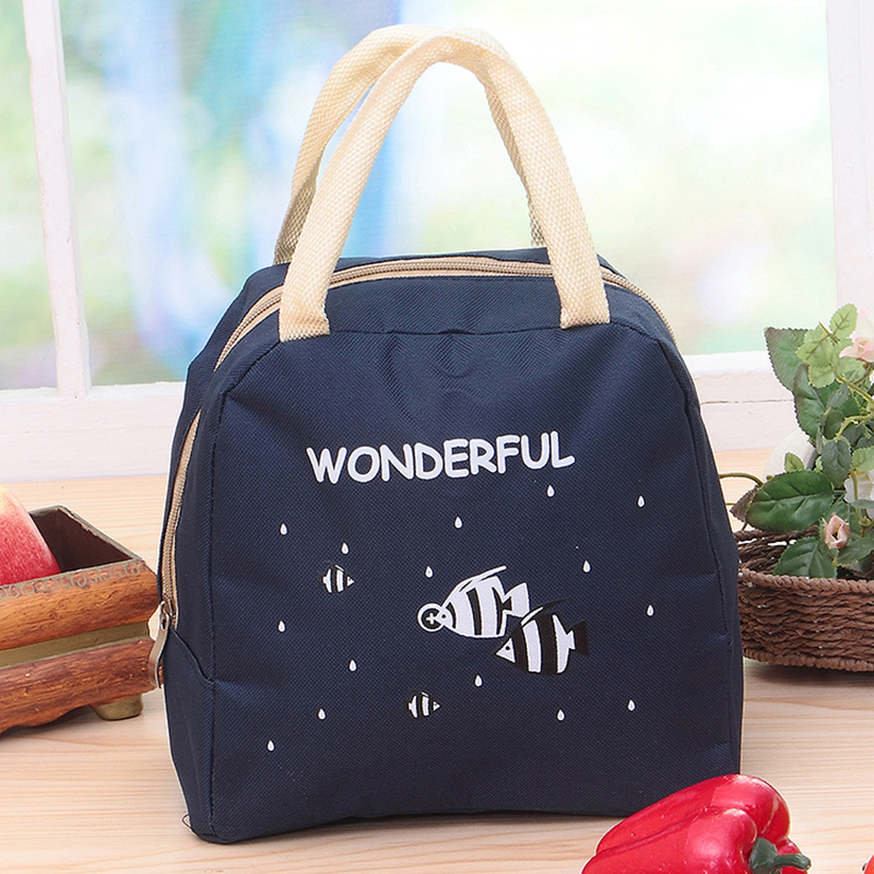 lunch bag insulated cooler bags kid bolsa termica for women picnic food sac isotherme thermal infantil
