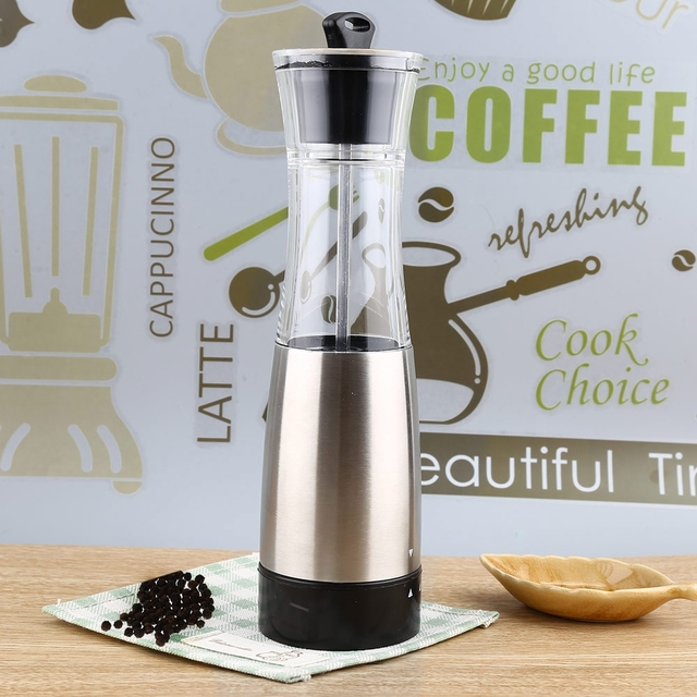 Electric Salt Pepper Mill Grinder Stainless Steel Pepper Mills