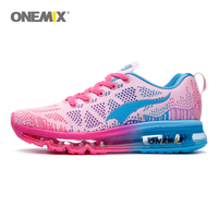 ONEMIX women sport running shoes music rhythm ladies sports shoes air cushions outdoor sports shoes women shoes size EU 35 40