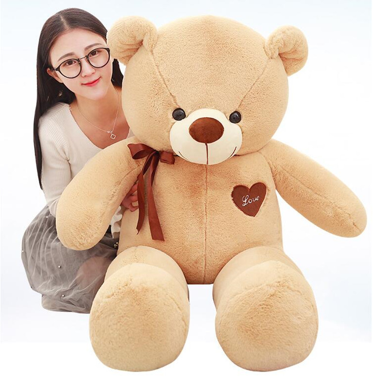 CXZYKING 60cm Big Plush Teddy Bear Plush Doll Toy Girl Doll Girlfriend Birthday Gift Big Love Bear Stuffed Soft Toy stuffed animal 44 cm plush standing cow toy simulation dairy cattle doll great gift w501