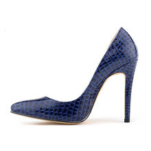 2017 classic red bottom super hot sales point the stiletto heel star light mouth women's shoes for with crocodile