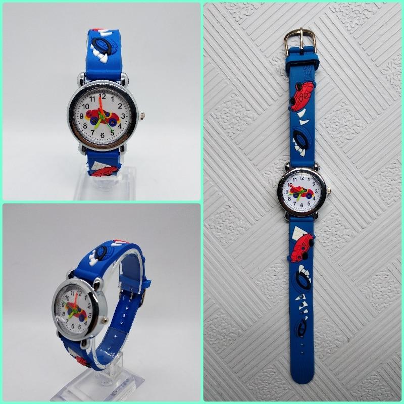 Low Price Good Quality Children Watch 3d Car Mobilization Kids Watches Students Clock Girls Boys Gift Child Quartz Wristwatches