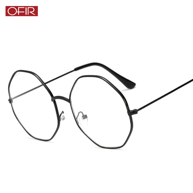 7391d2dc10b5 New Optics Diamond Glasses Frame Literary Vintage Metal Goggles Myopia  Frame Clear Lens Glasses Nerd Spectacles Eyeglass Oculos