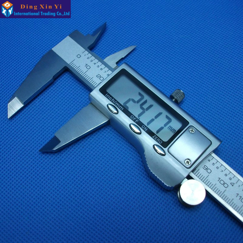 Sending hard box 6 150 mm 0.01 Digital Vernier Caliper Micrometer Guage Electronic Accurately Measuring Stainless Steel