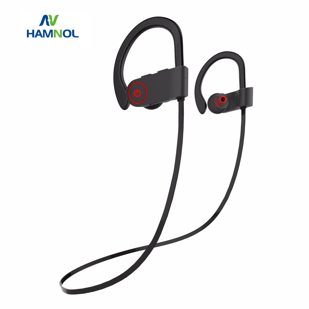 Bluetooth 4.1 Sport Headset Running Earbuds Sweatproof Earphone Stereo Bass Handsfree Earpods Airpods with Mic For Xiaomi iPhone songful s1 stereo deep bass earphone sport running headset sweat proof ear hook earbuds hifi handsfree with mic for iphone mp3 4