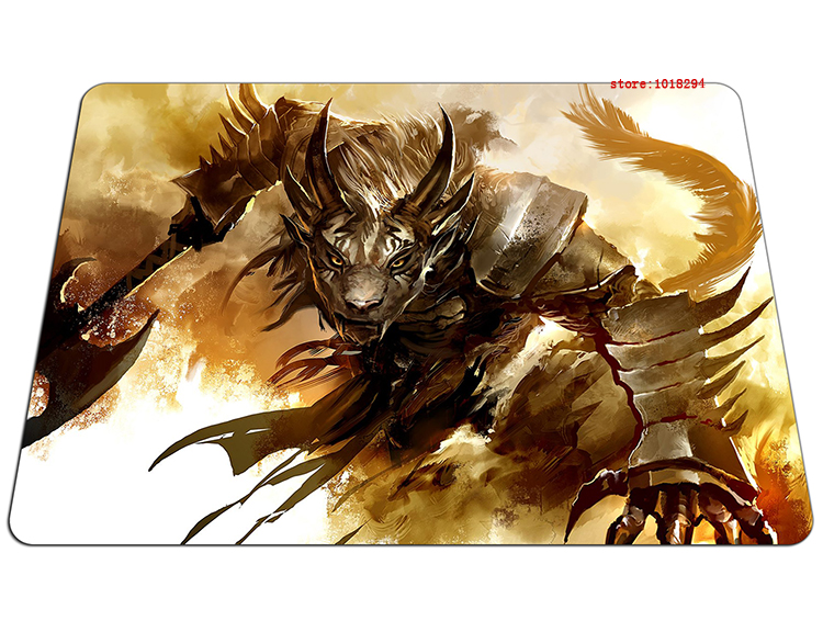 guild wars 2 mouse pad Office gaming mousepad Imported rubber gamer mouse mat pad game computer desk padmouse keyboard play mats
