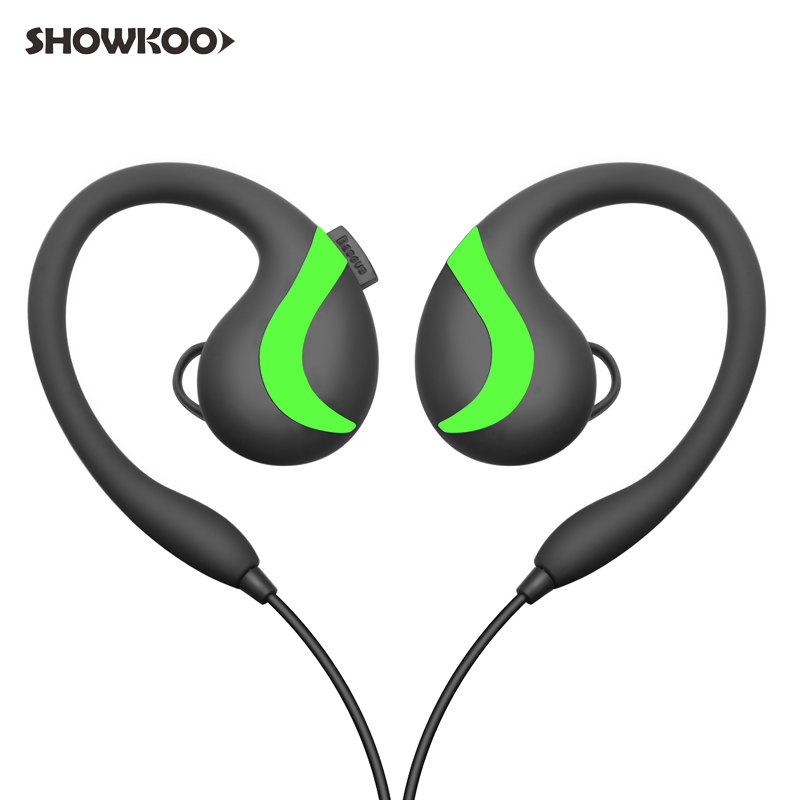 Showkoo CSR Earphone with Mic Wireless Bluetooth Headphone Sport Noise Canceling Headphone Running Stereo Headset fone de ouvido qcy chinese voice q30 business wireless earphone csr bluetooth 4 2 headphone with dual mic noise reduction headset