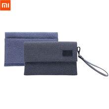 Xiaomi Водонепроницаемость электроника Аксессуары органайзер Bag 600D anti-брызг переносная сумка для Кабель зарядного устройства для наушников телефон