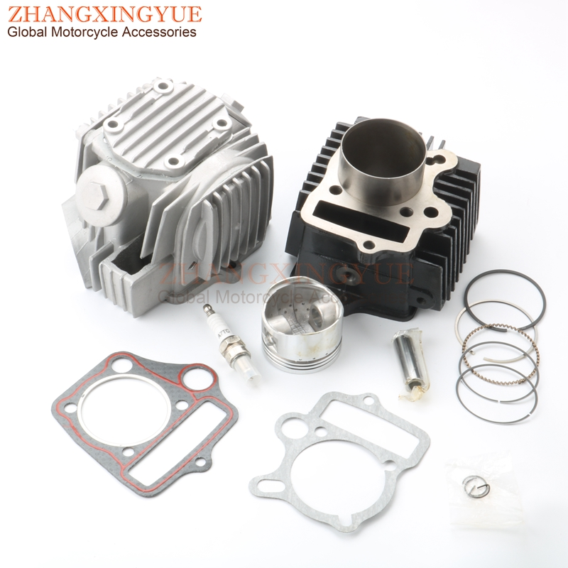 52.4mm Cylinder Kit & Cylinder Kit for China 110 C110 JH110 ATV Motocross Motorcycle 110cc 4T motorcycle cylinder kit 250cc engine for yamaha majesty yp250 yp 250 170mm vog 257 260 eco power aeolus gsmoon xy260t atv