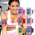 Funcionamiento de la banda impermeable deportes correa para la muñeca bolsos del teléfono 5 pulgadas para nexus 5x 4 magna h502f h500f leon 4g lte h340n iphone 6 6 s case