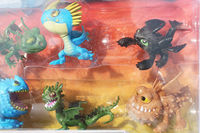4set Mini Order 8pcs Set Hot Sale How To Train Your Dragon 2 PVC Action Figures