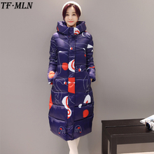 TFMLN 2017 New Winter Parkas Women Soft Fabric Clothes Hooded Jackets Winter Long Jacket High Quality Warm Female Hot Parka