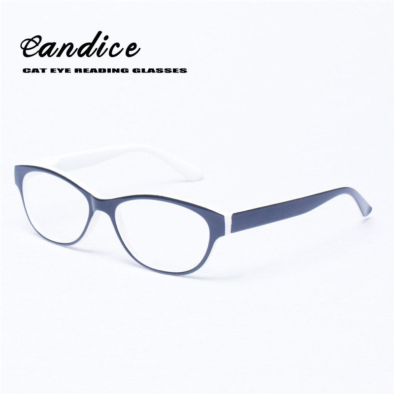 Large Framed Cat Eye Reading Glasses : Reading Glasses Women Cat Eye Glasses Retro Vintage Oval ...