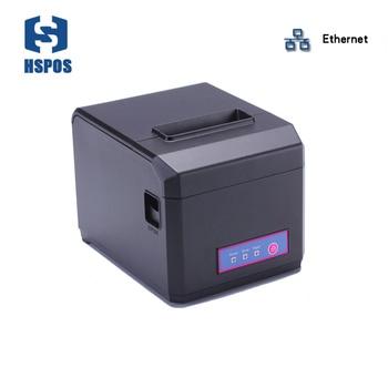 High quality 80mm impressora termica with lan interface pos receipt printer support windows linux drivers desktop printer cutter