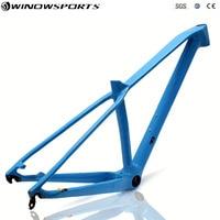 29er carbon mountain bike frame 27.5er MTB carbon frame 29er size XS/S/M/L axle thru 142x12 disc carbon mtb bike frameset