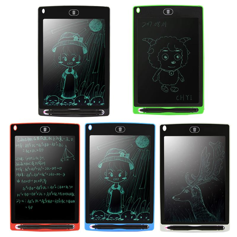 Портативный Smart ЖК-дисплей записи Планшеты, 8.5 дюйма eWriter цифровой рисунок Планшеты почерк колодки электронная доска для детей