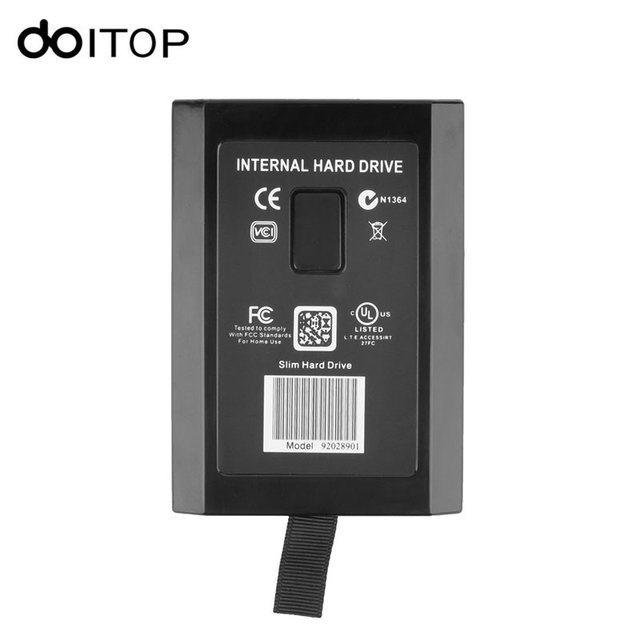 DOITOP 120GB Hard Drive Disk HDD Internal Harddisk For Microsoft Xbox 360  Slim High Quality /3-in Harddisk & Boxs from Consumer Electronics on