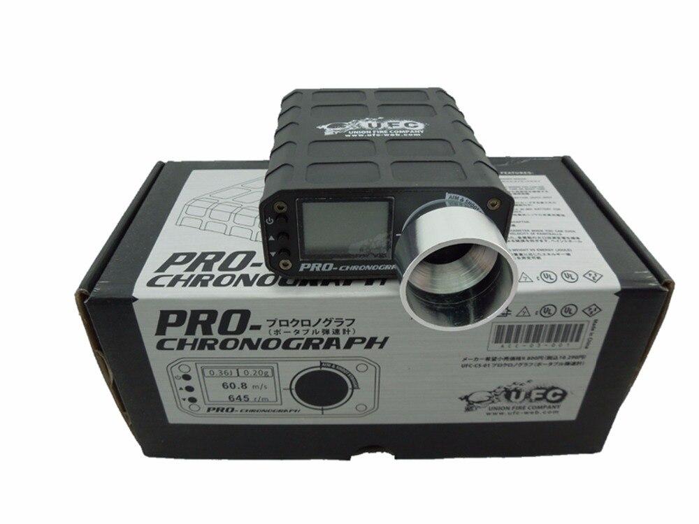 Airsoft Tactical PRO Cronógrafo Speed Tester de Alta Potencia Cronógrafo Pistola