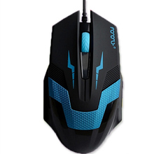 Zimoon X5 Wired Gaming Mouse 1200 DPI 4 Keys Optical Mause Human Body Engineering Design Computer Mouse Mice For CS Dota 2