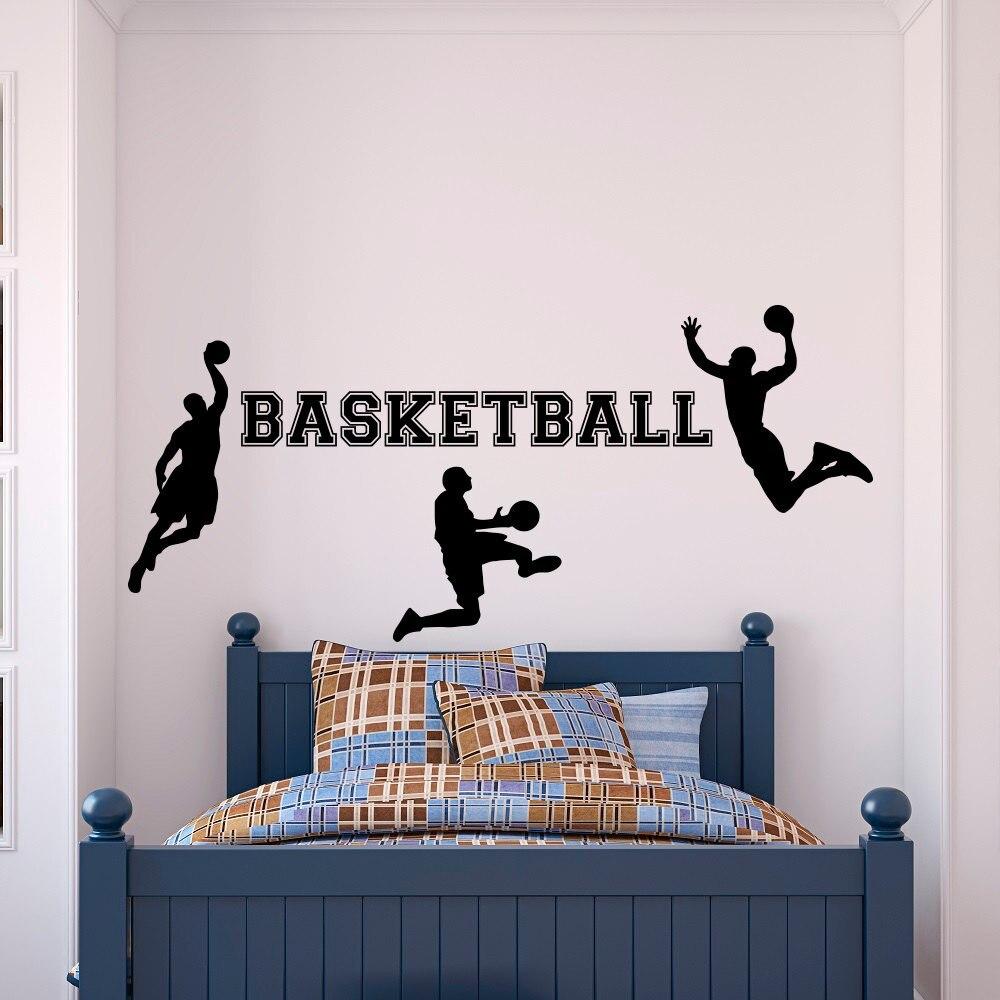 Aliexpresscom Buy Basketball Wall Decal Sports Wall Vinyl - Lego wall decals vinylaliexpresscombuy free shipping lego evolution decal wall