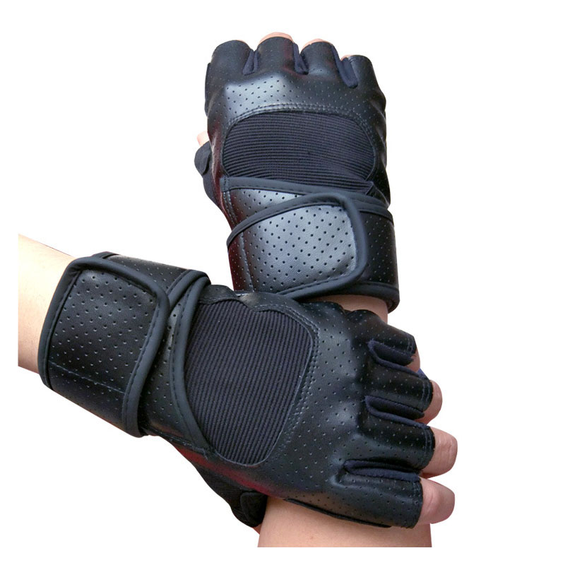 Outdoor Fitness Gloves: Outdoor Sports Fitness Gloves Male Half Glove Non Slip