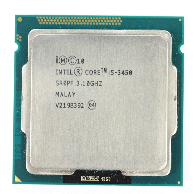 Intel Core I5 3450 6M 3.10GHz Quad Core Socket 1155 CPU Processor