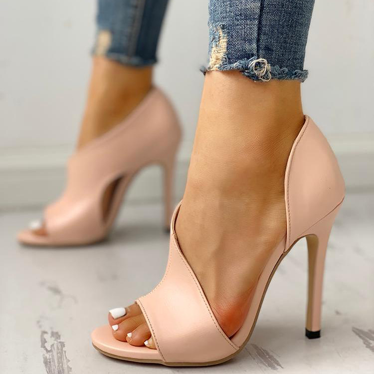 Sandals Party-Shoes Stiletto Wedding High-Heels Sexy Peep-Toe Womens Fashion Summer Ladies