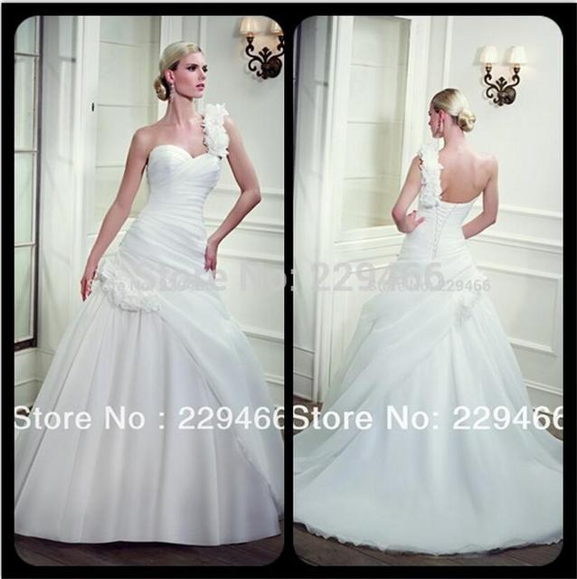 Embellished Organza Wedding Dress