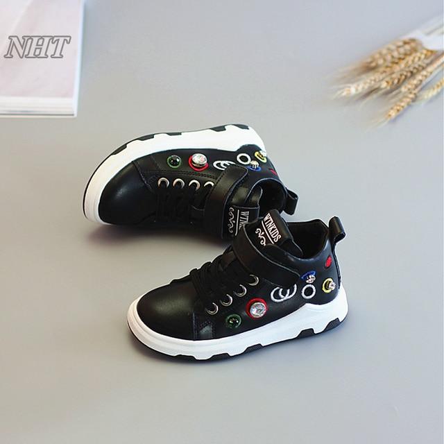 2017 koleksi sepatu bordir anak berlian mahal sepatu sneakers untuk anak  laki-laki   perempuan 237f6a6fb0