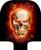 Trecho de Viagem Bagagem Mala de Bagagem Tampas De Proteção de Cópia Do Crânio Capa Aplicar Para 18-30 polegada Acessórios Mala De Viagem Dos Homens