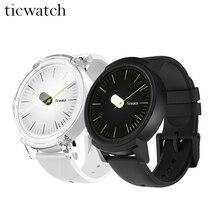 Оригинальный Ticwatch E смарт-часы Android Wear 2,0 MT2601 двухъядерный с GPS Smartwatch IP67 Водонепроницаемость с микрофоном/Динамик кремния