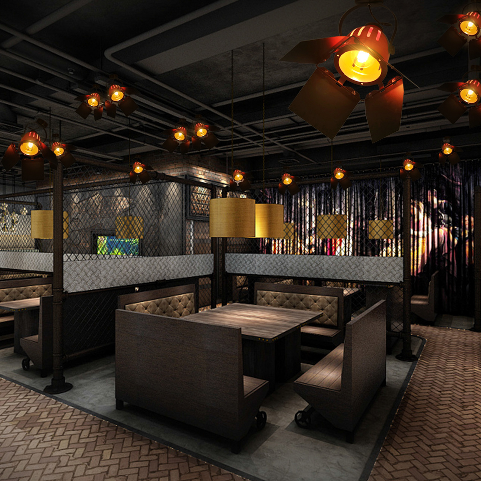 para casa café bar hotel restaurante luminária