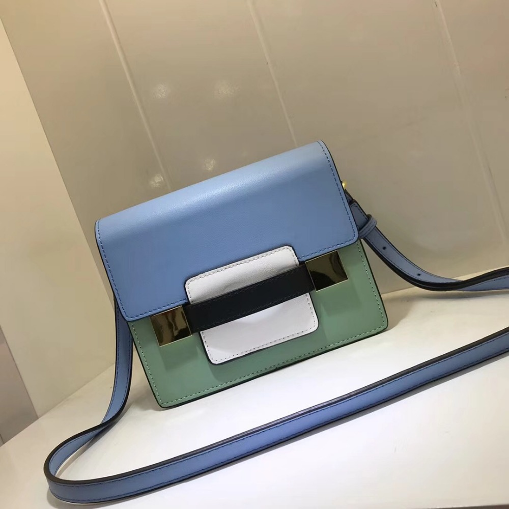 Kafunila 2018 new arrival genuine leather bag for women hot sale famous brand design high quality real cowskin shoulder bag flap