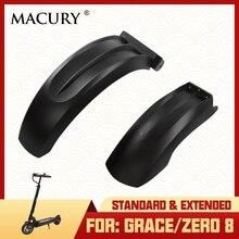 Стандартный и расширенный заднее крыло переднее крыло для Grace 8 Zero 8 Zero8 T8 Электрический скутер крышка Macury запасные части