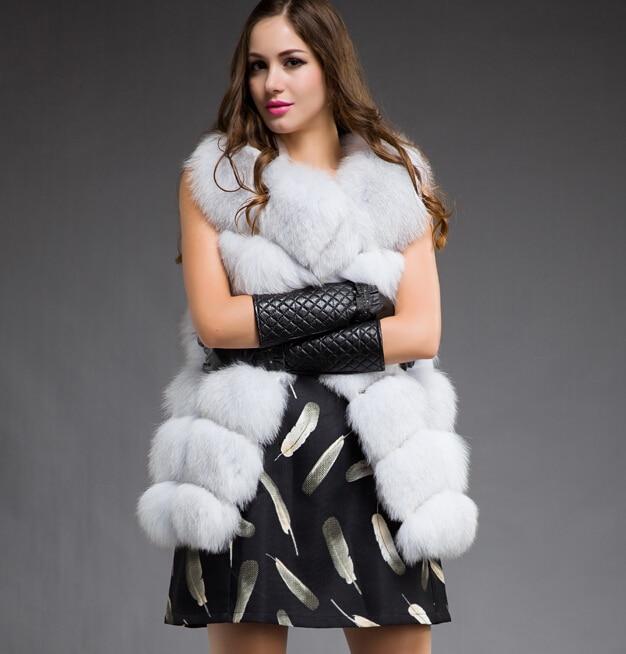 Aliexpress.com : Buy Best Real Fox Fur Vest Natural Fur Coats For ...