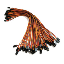 300mm 30cm JR male to male plug 26awg 50pcs lot RC servos extension Lead wire cable