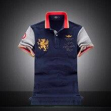 Men's Polo Shirts Fashion Style 100% Cotton Embroidery Brand Polo Shirt Men Short Sleeve