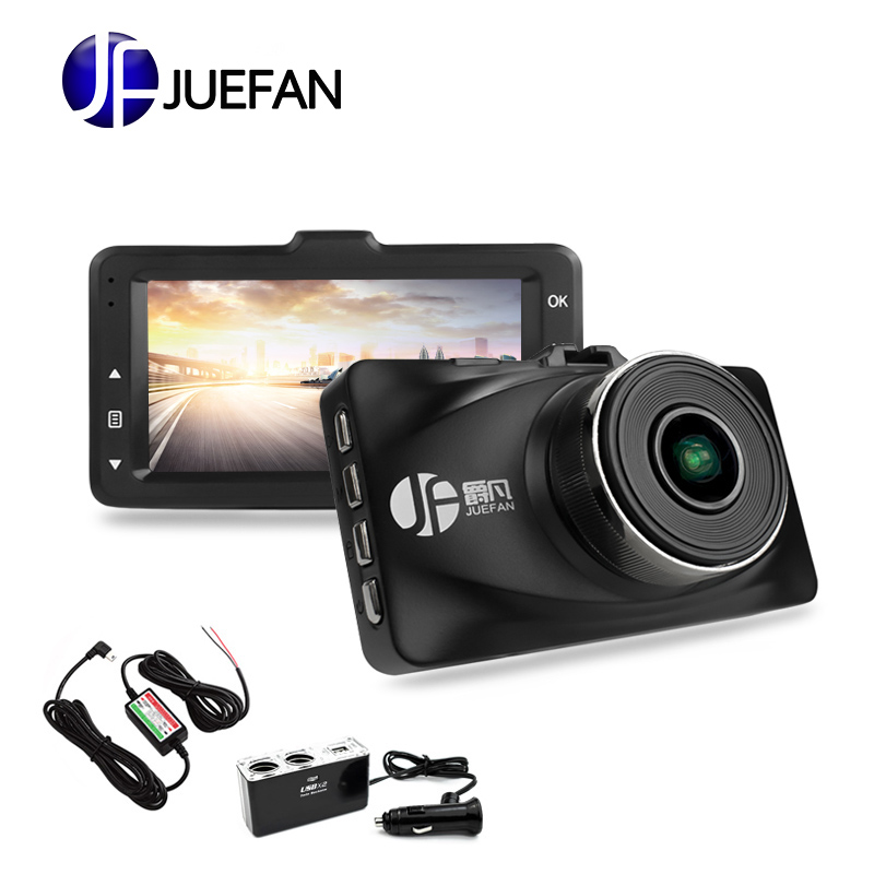 JUEFAN high quality car dvr camera Novatek 96655 dash cam full hd 1080p auto camera 3.0 inch Parking monitoring dashcam