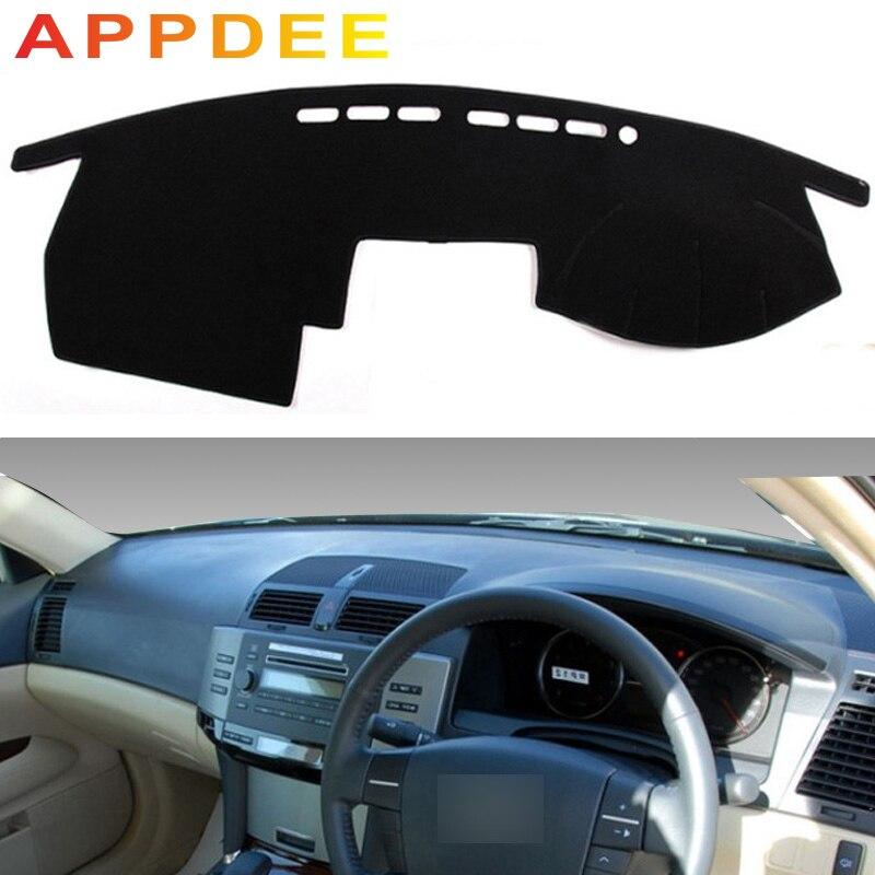 APPDEE For Toyota mark x 2004-2009 Car Styling Covers Dashmat Dash Mat Sun Shade Dashboard Cover Capter 2005 2006 2007 2008 RHD