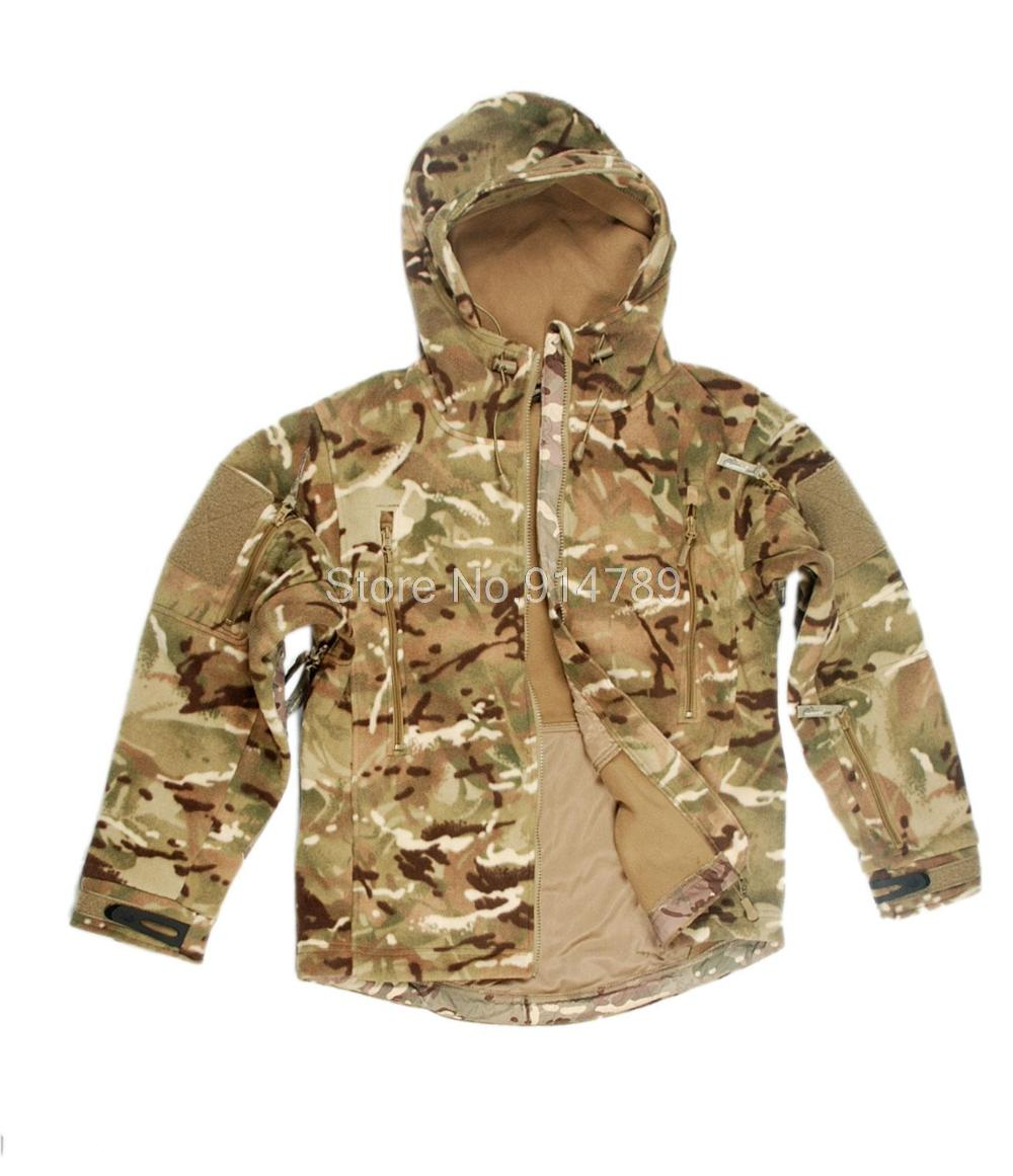 TACTICAL PAINTBALL HEAVY FLEECE JACKET MTP CAMO IN SIZES 34164