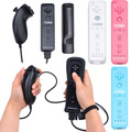 New 4 colors  Remote Built in Motion PLus and Nunchuck Controller Gamepads for Wii Nintendo 100% compatible