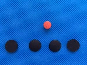 Image 2 - 4 pz/set Nuovo Piedini In Gomma per Lenovo ThinkPad X1 Carbonio Gen 2 3 MT: 20A7 20A8 20BS 20BT Base Inferiore della Copertura Del Piede con TrackPoint
