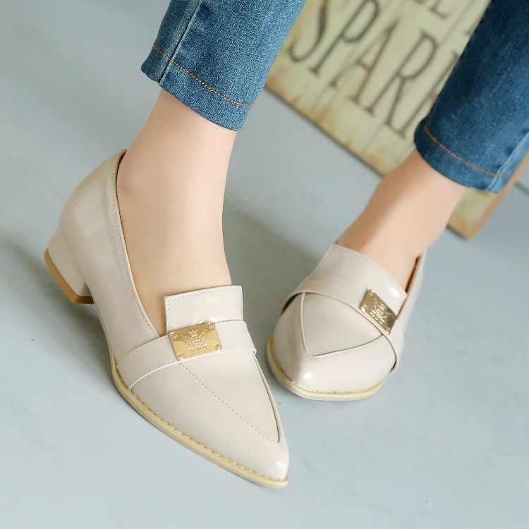 Женские туфли на высоком каблуке; женские туфли-лодочки; тонкие туфли на высоком каблуке с металлическим украшением; большие размеры 11, 12, 13