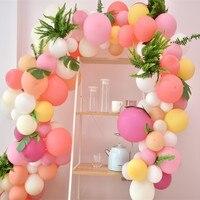 113 шт. на день рождения набор воздушных шаров гирлянды, комплект с надписью «розовый», Макарон воздушные шары для свадьбы или «нулевого дня р...
